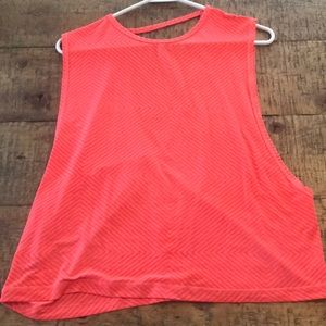 Puma Open Back Athletic Tee